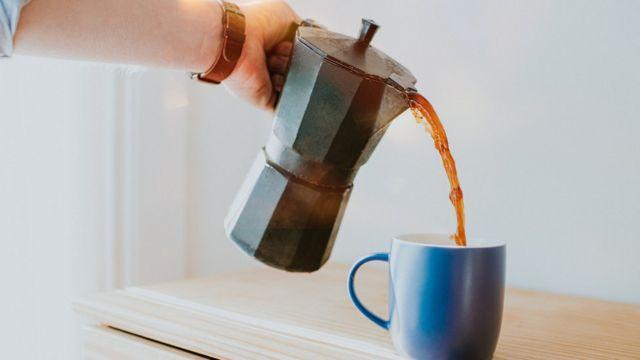 Pot à café.