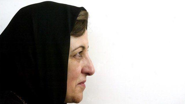 Shirin Ebadi. Foto de archivo: 2005