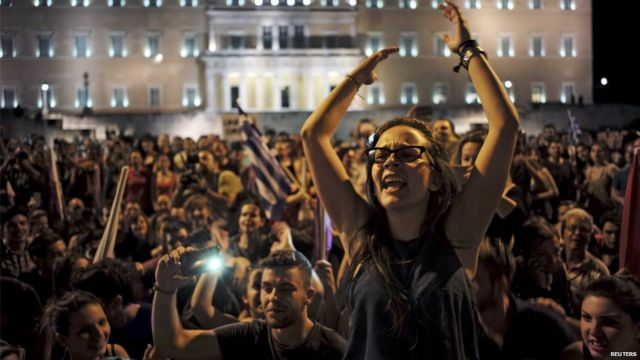 Greece debt crisis: Tsipras says voters made 'brave choice'