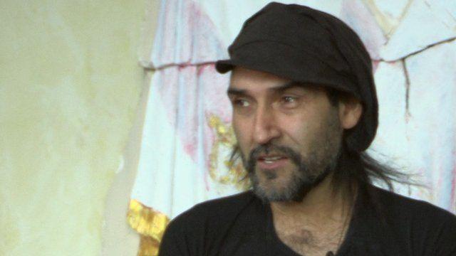BBC Persian presenter Bezhad Belour