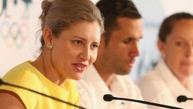Fiona de Jong, directora ejecutivo del Comité Olímpico Australiano (AOC)