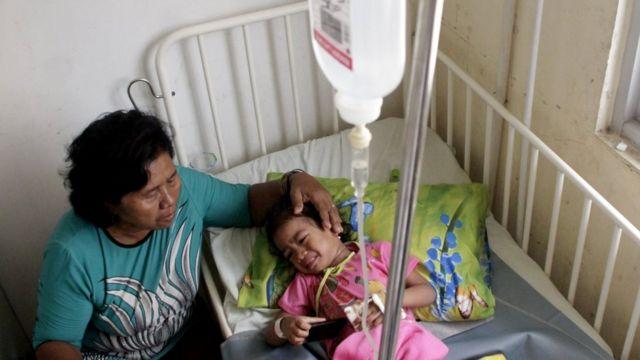 Penderita DBD di Kupang