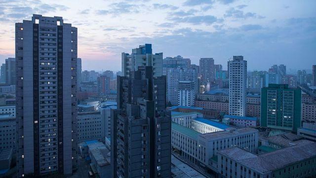 Edificios en Pyongyang