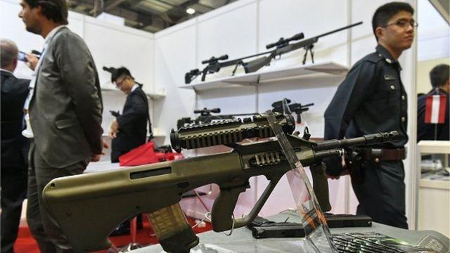 Такое оружие задекларировал кандидат в президенты Роман Насиров