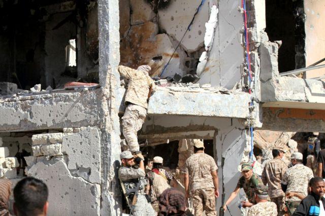 منزل دمره هجوم لتنظيم الدولة في سرت