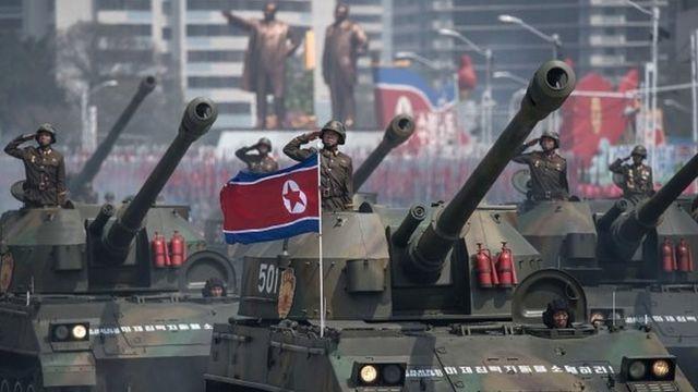 تصاعد التوتر بين كوريا الشمالية والولايات