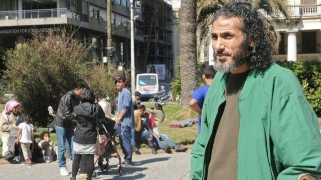 Jihad Diyab en Uruguay