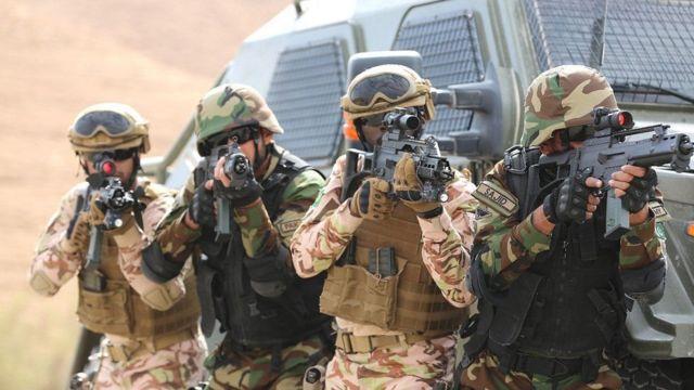 پاکستان اور سعودی عرب کی فوج