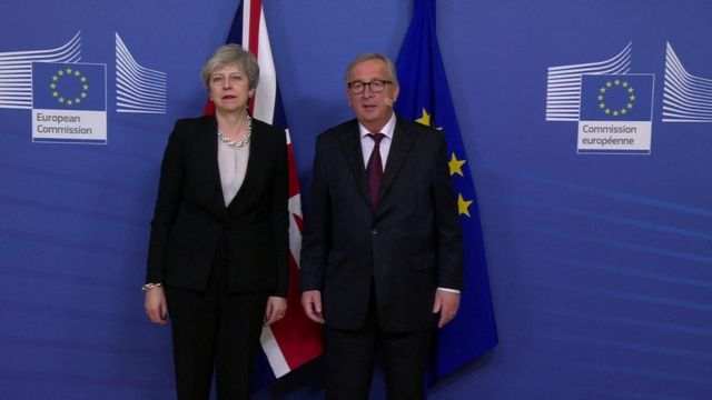 Brexit: Theresa May says 'time of essence' for backstop deal
