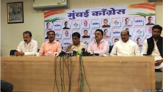 महाराष्ट्र प्रदेश काँग्रेस समितीने मुंबईत पत्रकार परिषद आयोजित केली.