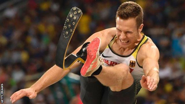 Markus Rehm no salto em distância