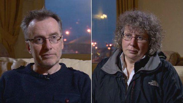 Tim Morrison and Fiona Grahame