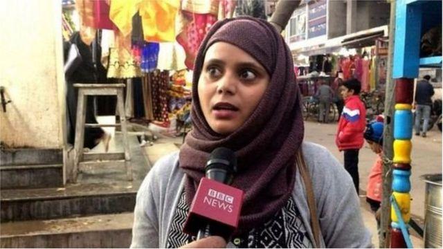 مسلم طالبہ