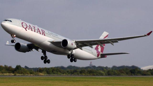 خط هوایی قطر