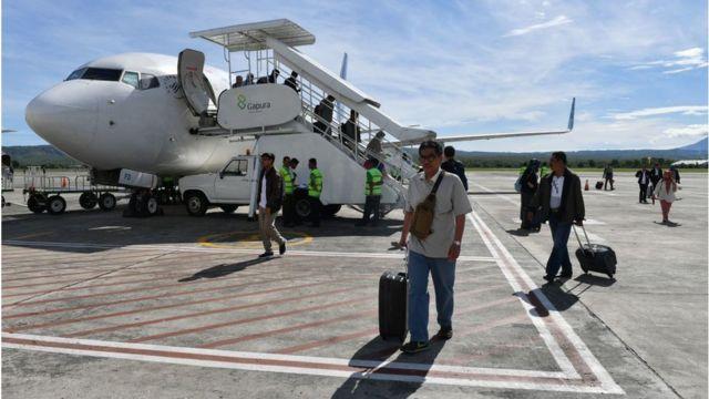 Harga Tiket Domestik Melangit Warga Aceh Gunakan Paspor Saat Terbang Keluar Kota Bbc News Indonesia