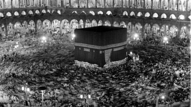 ১৯৭১ সালে তোলা কাবার ছবি