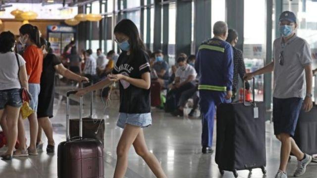 Sân bay Nội Bài ngày 28/7