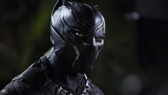 персонаж Черная пантера в кино