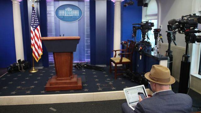 Beyaz Saray basın toplantısı