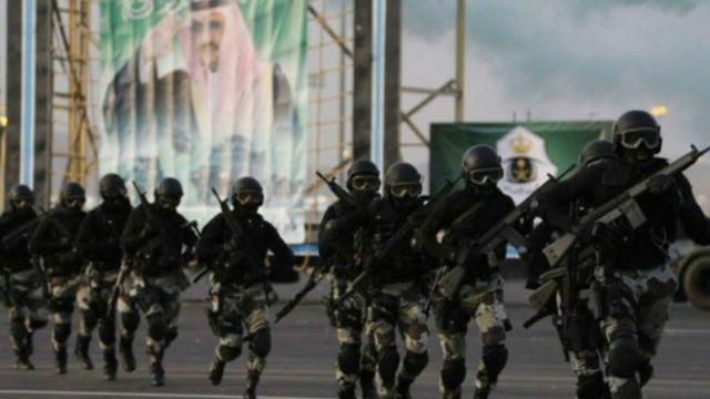 قوات امن سعودية