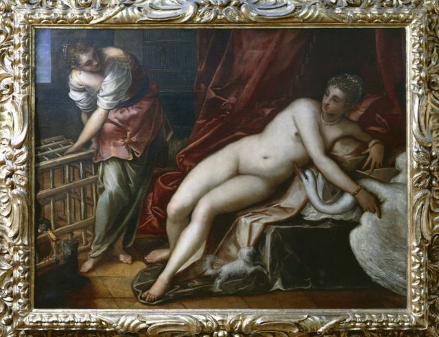 Leda and the Swan, by Tintoretto, 11 Jul 08