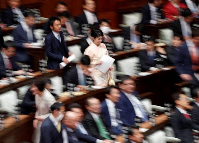 Parlamentares japoneses