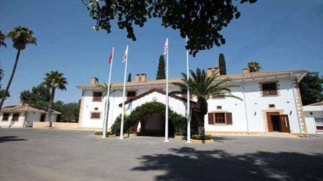 Kuzey Kıbrıs Cumhurbaşkanlığı binası