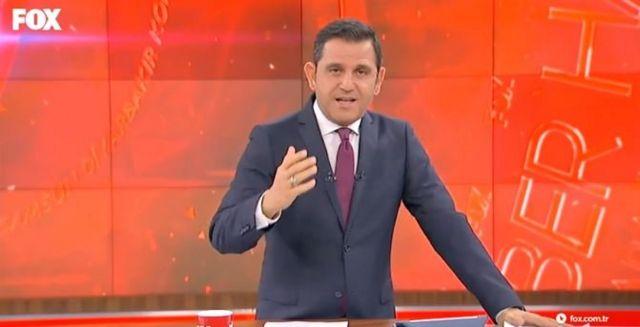 Fox TV Ana Haber bülteni sunucusu Fatih Portakal,