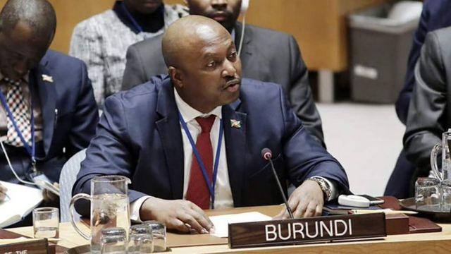 Ambasaderi Albert Shingiro uhagarariye u Burundi muri UN ejo nawe yumviswe n'inama ishinzwe umutekano ku isi