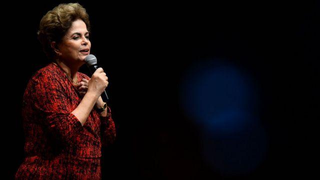 Dilma Rousseff foi afastada temporariamente da presidência em maio