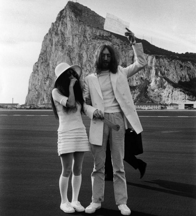 Јоко Оно и Џон Ленон