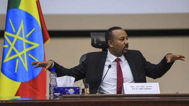 رئيس الحكومة الأثيوبية أبيي أحمد
