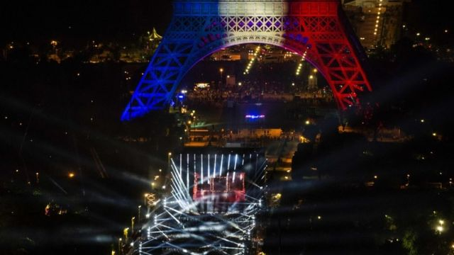 Thousands attended a concert by DJ David Guetta on Thursday 9 June