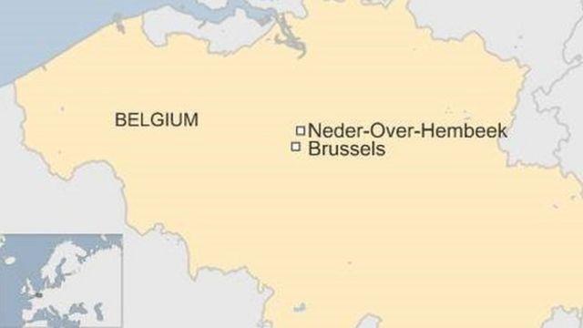 爆弾が爆発した研究所はブリュッセル北の郊外にある