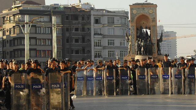 Gezi Parkı protestoları sırasında hükümet sık sık Almanya'yı eylemlere destek vermekle suçladı.