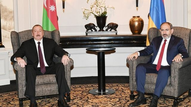 Aliyev ve Paşinyan - Arşiv 29 Mart 2019