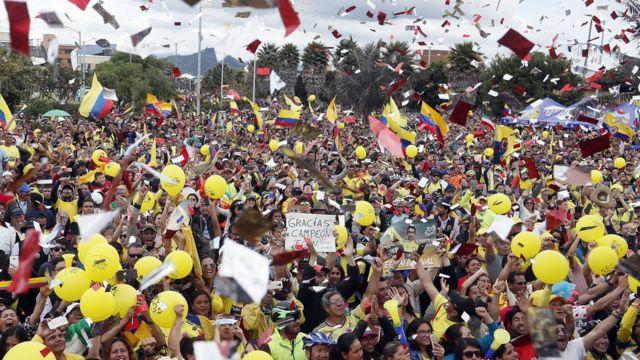 Colombia entera celebró la victoria de Egan en el Tour.