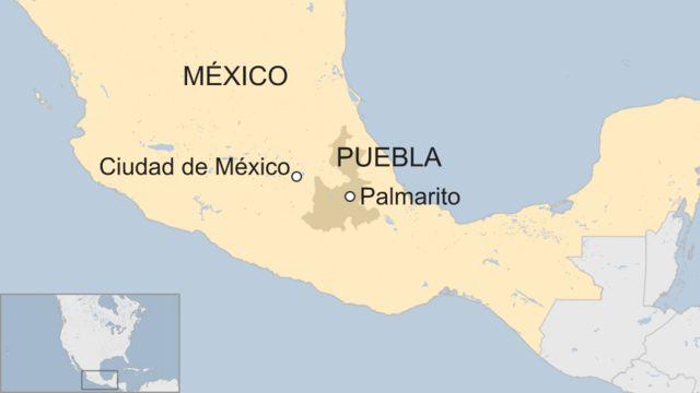 Mapa Palmarito