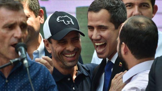 Capriles y Guaidó