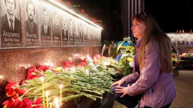 纪念切尔诺贝利惨案遇难者