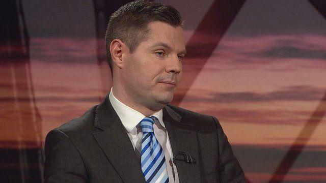 Derek Mackay is Scotland's Transport Minister