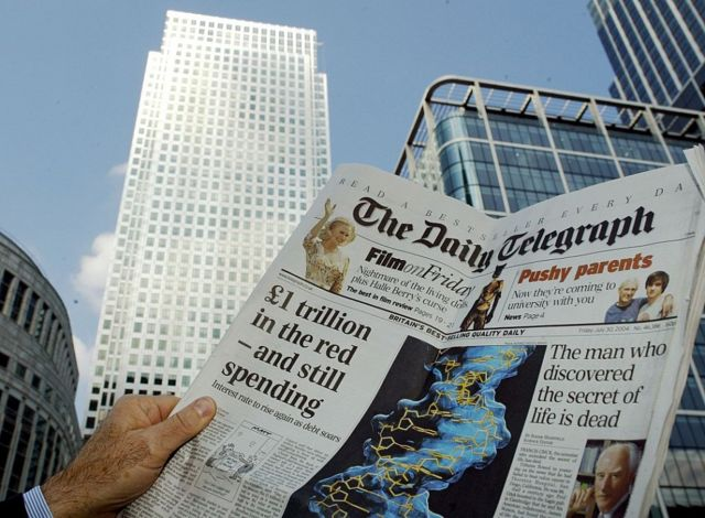 Daily Telegraph offices in 2004