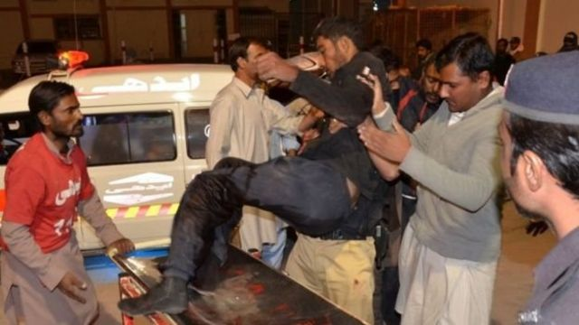 क्वेटा के पुलिस कॉलेज पर हुआ धमाका