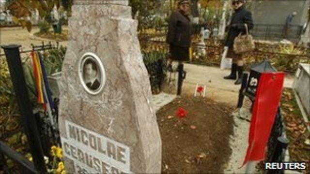 Čaušeskuov grob