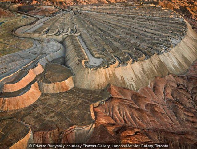 2017年,智利卡拉馬,智利丘基卡馬塔銅礦超負荷#2。