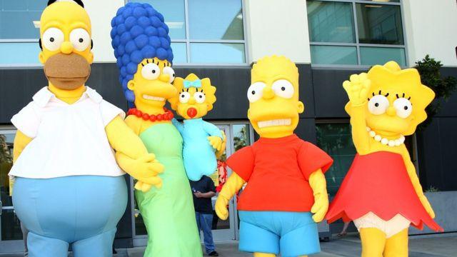 """""""Los Simpson"""" se caracterizan por su crítica satírica de la sociedad estadounidense."""