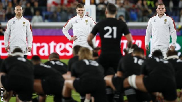 England had lost their previous six meetings with the All Blacks before their semi-final win