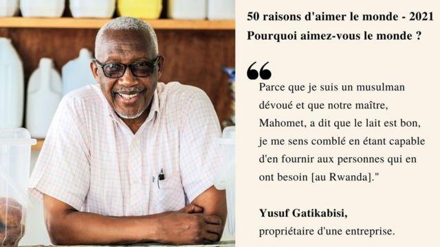 Citation de Yusuf Gatikabisi