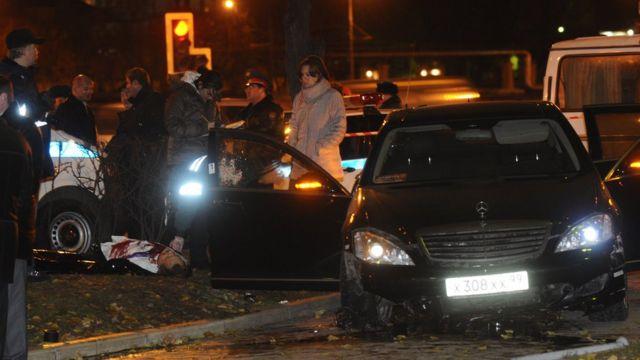 """В 2009 году Шабтая Калмановича убили в его """"мерседесе"""""""