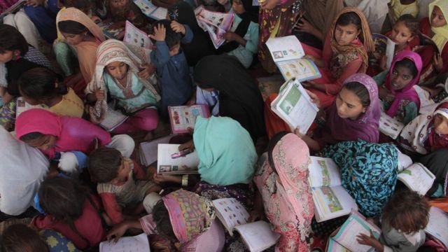 Girls school in Pakistan